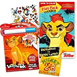 Disney Lion King and Lion Guard Coloring Book Set -- Mess-Free Imagine Ink Book, Play Pack, and Bonus Stickers (Lion King Party Supplies)