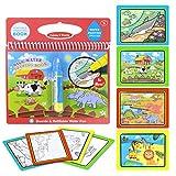 Happy Cherry - Juguete de Pintura para Niños Infantil Libro de Pintar Colorear con...