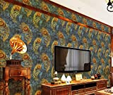 Material: OthersColor: Multicolour Package Contents: 1 Wallpaper No Warranty Wallpaper roll size: 1. 74 ft x 33 ft = 57 sq. Ft (0. 53m x 10. 05m = 5.32 sq.Meter) Long life: Our wallpaper are made of a waterproof and durable material These wallpaper w...