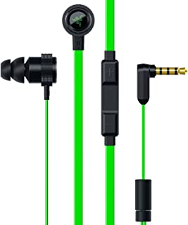 Razer hammerhead V2入耳式耳机带增强被动式噪音 isolation