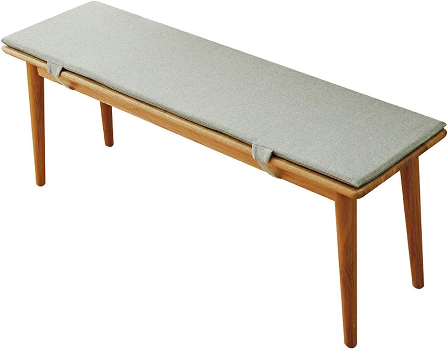 Homranger Patio Bench Cushion Solid Wood Bench Indoor Outdoor Bench Anti Slip Seat Pad With Ties For Swing Bench Glider A 100x35x2cm 39x13x1inch Amazon Co Uk Kitchen Home