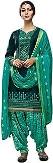 Womens Ready to Wear Salwar Kameez Indian Stitched Salwar Suit Punjabi Patiala Suit for Women