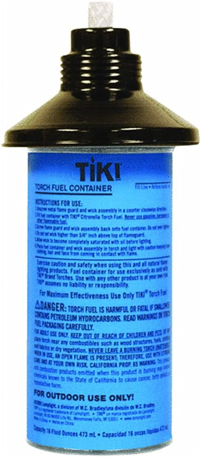 Hollowick Metal Torch Replacement Canister, 12 Ounce - 1 Each.