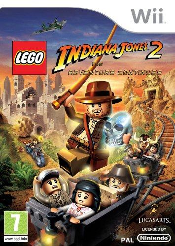 Lego Indiana Jones 2: The Adventure Continues (Nintendo Wii) [Import UK]