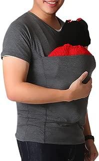 Kangaroo Care Soothing and Breastfeeding Baby Carrier Wrap Top , Hands Free Skin-to-Skin Kangaroo Care Shirts