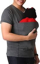 , Kangaroo Care Soothing and Breastfeeding Baby Carrier Wrap Top , Hands Free Skin-to-Skin Kangaroo Care Shirts