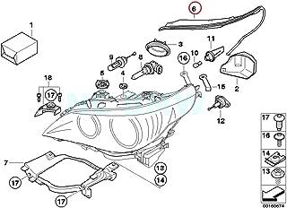 BMW Genuine Right Headlight Gasket