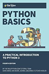 Python Basics: A Practical Introduction to Python 3 Paperback