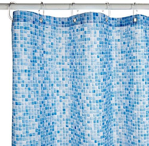 Croydex Poolmosaikdesign, blau, Polyester, Blue Mosaic, 1 x 180 x 180 cm