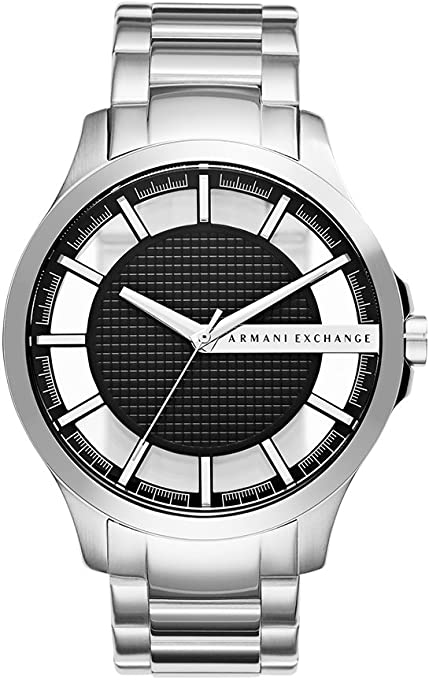 Armani Exchange Men's AX2179 Year-Round Analog Quartz Silver Watch