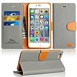 Funda iPhone 6 / 6S, IPHOX Cuero Fundas iPhone [Ranuras para Tarjetas][Cierre Magnético]...