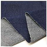 ZXC Extra dick Jeansstoff aus Reiner Baumwolle in Denim