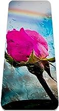 Antislip Yoga Mat, Onklopbare Antislip Prestaties, Eco Vriendelijke Yoga, Geurloos, Lichtgewicht en Extra Groot formaat, a...