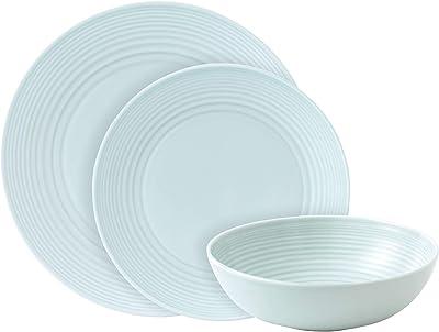 English Royal Doulton Dinner Ware Gordon Ramsey Royal Doulton 7 Blue Maze Design Bowl used but great condition
