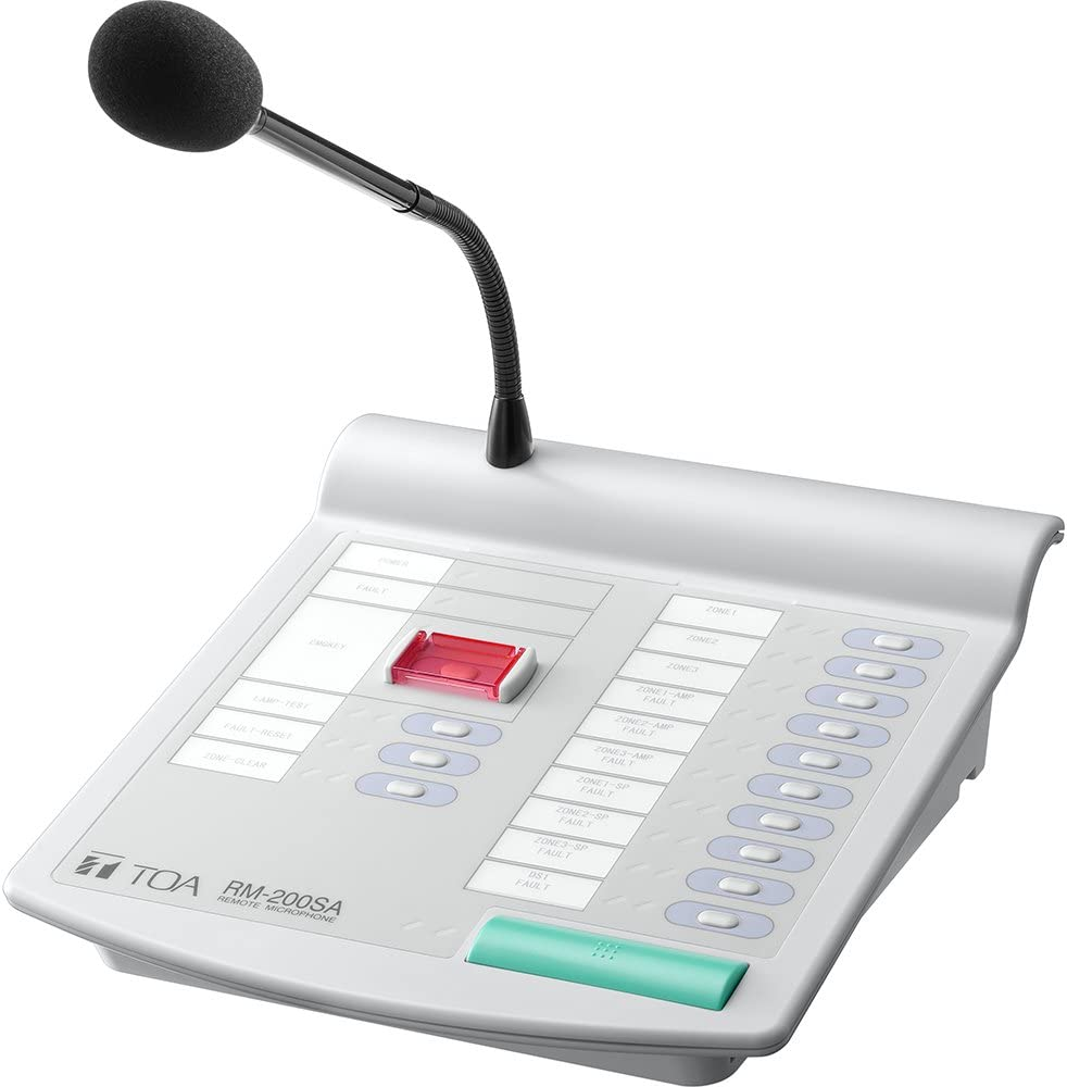 Don't miss Nippon regular agency the campaign TOA RM-200SA Remote Microphone