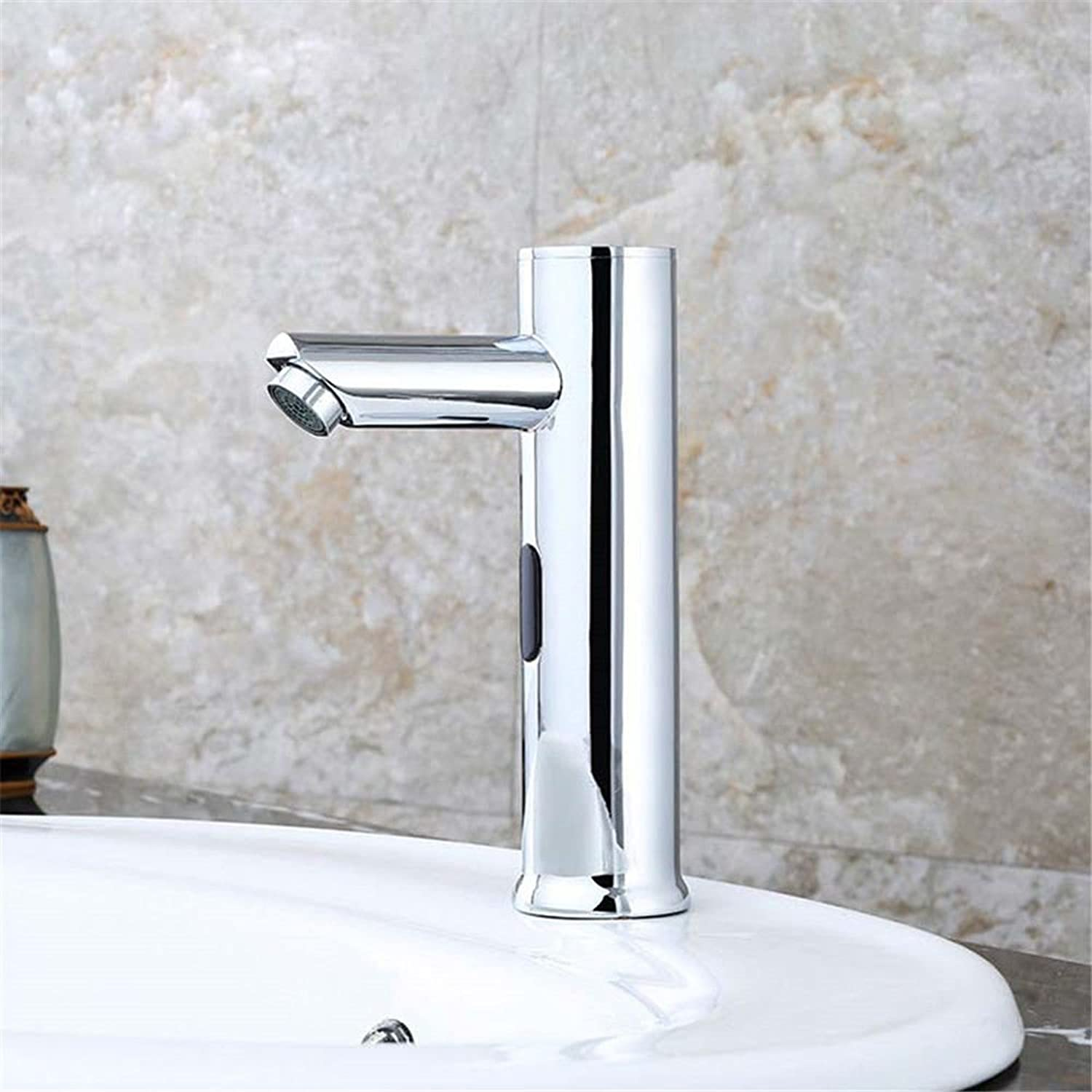 Lalaky Taps Faucet Kitchen Mixer Sink Waterfall Bathroom Mixer Basin Mixer Tap for Kitchen Bathroom and Washroom Copper Intelligent Induction Infrared Cooler