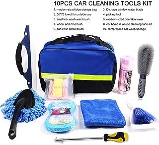 Kit de ferramentas de limpeza de carro GoolRC 7 peças, kit de ferramentas de lavagem de carro para detalhes de interiores,...