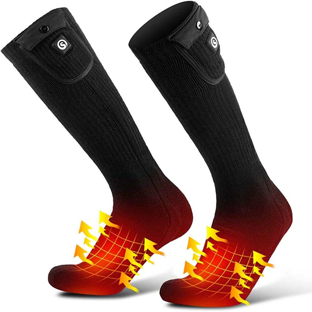 Savior Heated Socks for Max 56% OFF Men USB Bat Women Rechargeable Max 58% OFF Electric