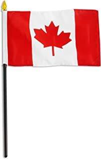 US Flag Store Canada Flag, 4 by 6-Inch
