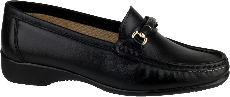 Cotswold Barrington Damen Schuhe   Loafer   Mokassins (42 EUR) (Schwarz)