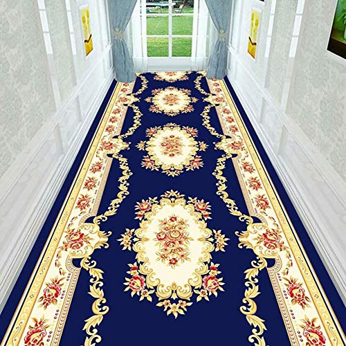 HUAGE Alfombras de alfombras para Corredores de Pasillo, Alfombra de la Alfombra para el hogar, rugest con la Alfombra Larga para la Sala de Estar 80 * 300cm (Size : 60 * 500CM)