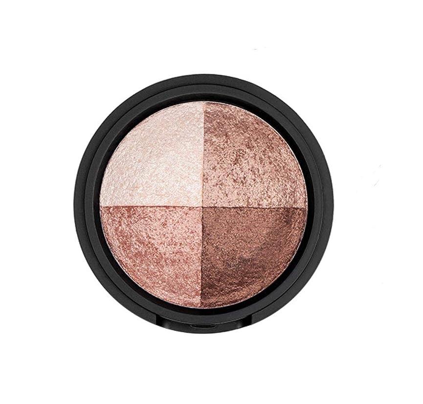サッカーおびえた真鍮WAKEMAKE Eye Styler Eyeshadow 4色のアイシャドウパレット#1 DAY BROWN(並行輸入品)