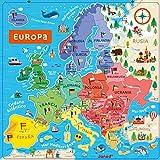 Janod Mapa DE Europa MAGNETICO Version ESPAÑOLA