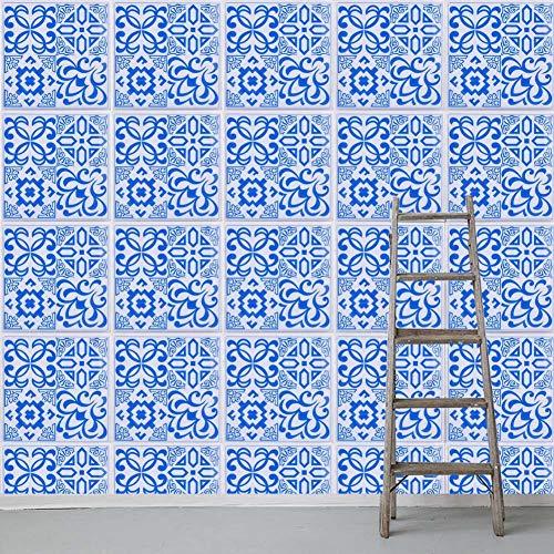 Huairdum Wasserdichter Wandaufkleber, 3D-Wandaufkleber mit Langer Lebensdauer, ungiftig 20 * 20 cm für Schlafzimmer- und(Flower Type 0)