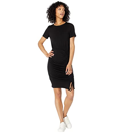 Calvin Klein Short Sleeve Blouson Dress with Ruched Detail