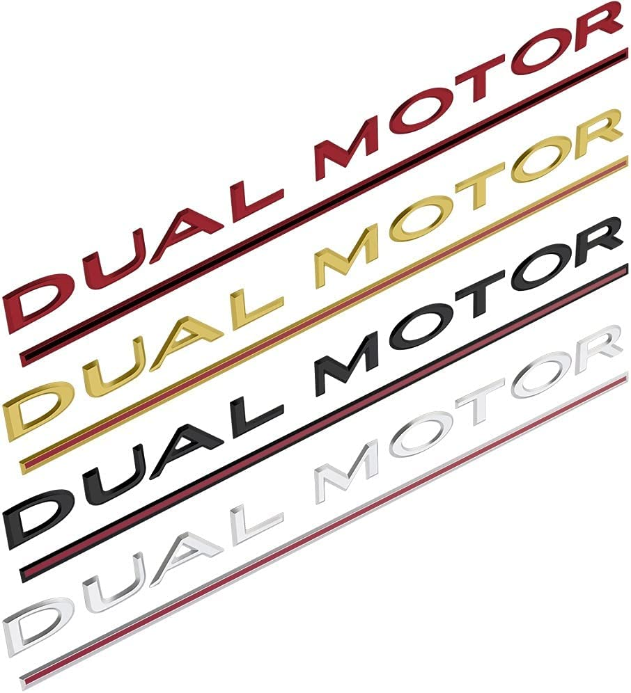 Zoe home Car Front Hood security National products Emblem Compatible Dual Motor wit Sticker
