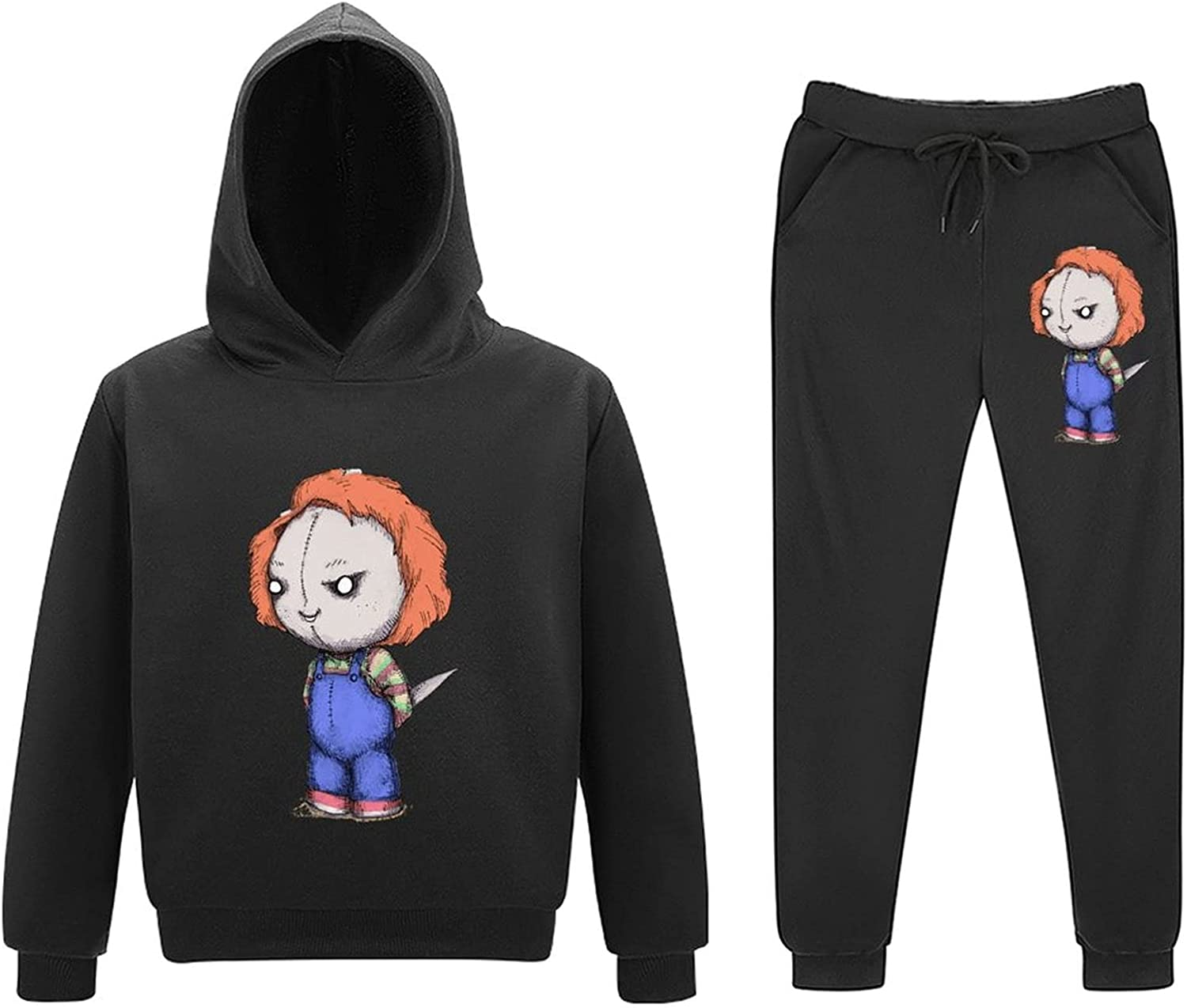5-11Y Chu-cky Kids Toddler Sweatsuits Tee Little Piece Las Vegas Mall Outfits 2 Large-scale sale