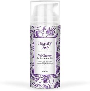 Beauty Jam Gel Cleanser for Dry Sensitive Skin, 3.3 Ounce