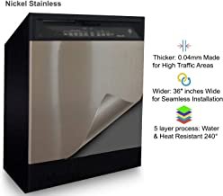 Best stainless steel vinyl wrap for appliances Reviews