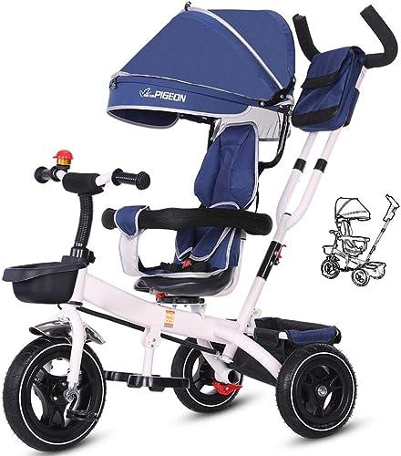 ahorra hasta un 80% Moolo Triciclo Triciclo Triciclo para Niños, Triciclo para Niños, Bicicleta, Carrito, toldo, Reversible, Plegable, Pedal, multifunción, 1-3-6 años  oferta de tienda