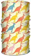 Kangaroos Pattern Changed Headscarf Bandanas Face Masks Protect You From Sun, Wind And Dust For Men&women