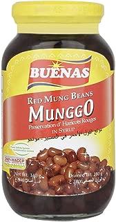 Buenas Red Mung Beans, 340 g