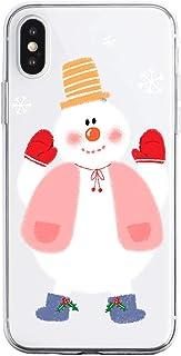 Oihxse Case Compatible con Samsung Galaxy A6 Plus 2018 Funda Transparente Silicona Suave Carcasa Protectora Navidad Santa ...