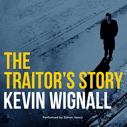The Traitor's Story audiobook cover art