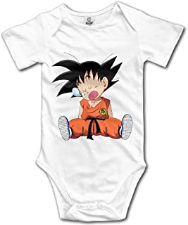 Cute Cartoon Dragon Ball Z Kid Goku Newborn Baby Onesie Baby Outfits