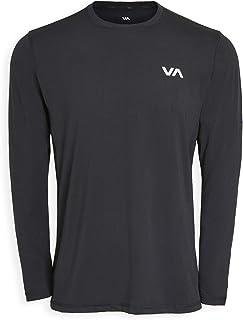RVCA Men's Sport Vent Long Sleeve Crew Neck T-Shirt