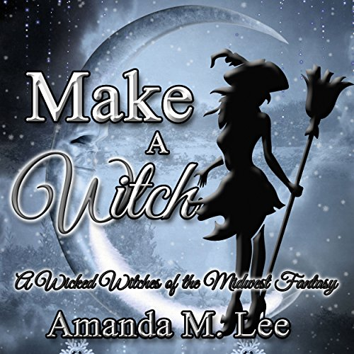 Make a Witch audiobook cover art