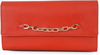 Baggit Autumn-Winter 2021 Faux Leather Women's Harmonium Wallet (Orange) (Lwxe Ting)