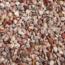 天然石 玉石砂利 1-2cm 20kg ローズピンク (ガーデニングに最適 ピンク砂利)