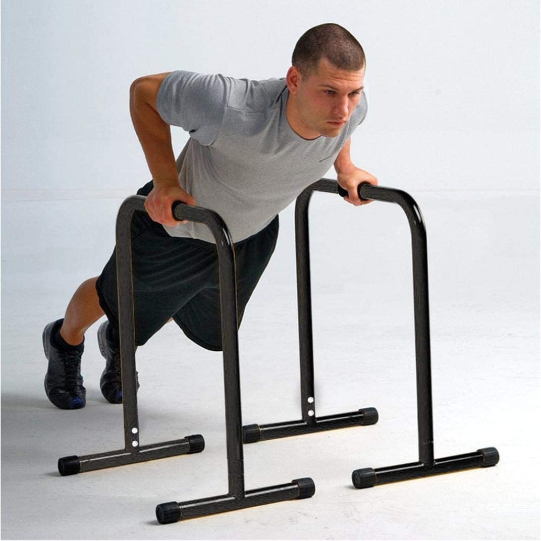 Qianglin Heavy Duty Dip Station,Home/Gym Multi-Use Dip Stand Fit