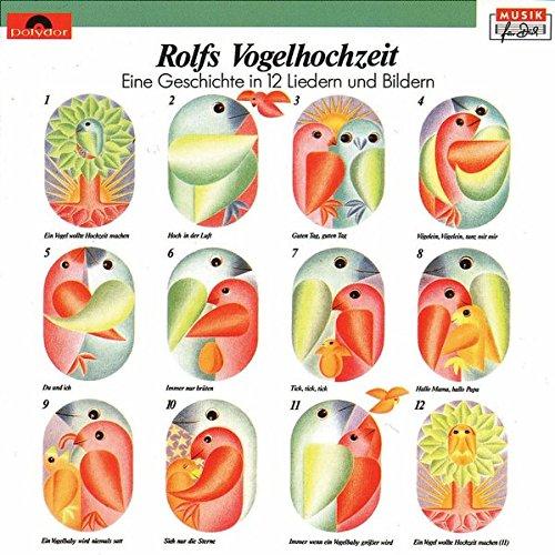 Rolfs Vogelhochzeit, 1 Audio-CD