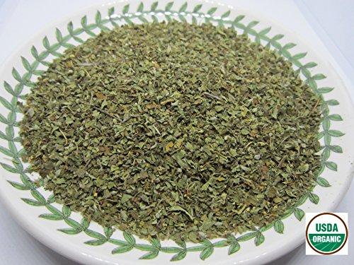 Organic Oregano - Origanum vulgare Loose Leaf C/S by Nature Tea (4 oz)