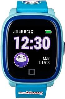SoyMomo - H2O - Montre GPS pour enfants - Montre connectée - Étanche IP67 - Bleu