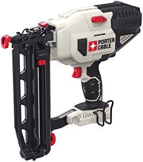 Porter-Cable PCC792BR 20V MAX Lithium-Ion 16-Gauge 2-1/2 in. Straight Finish Nailer (Tool Only) (Renewed)