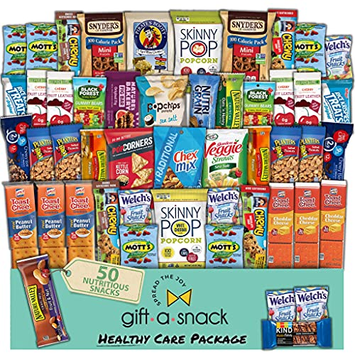 Healthy Snack Box Variety Pack Care Package (50 Count) Now $17.10 (Was $35.95)