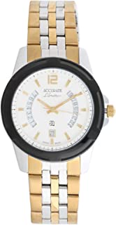Accurate Casual Watch Analog for Men, Stainless Steel, AMQ1888T